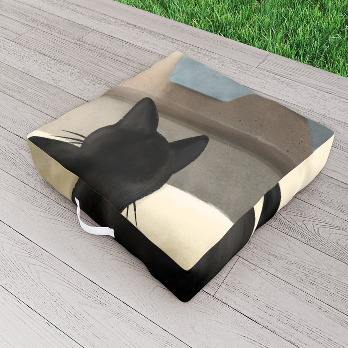 Upper and lower Outdoor Floor Cushion