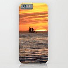 Sunset sail iPhone 6s Slim Case