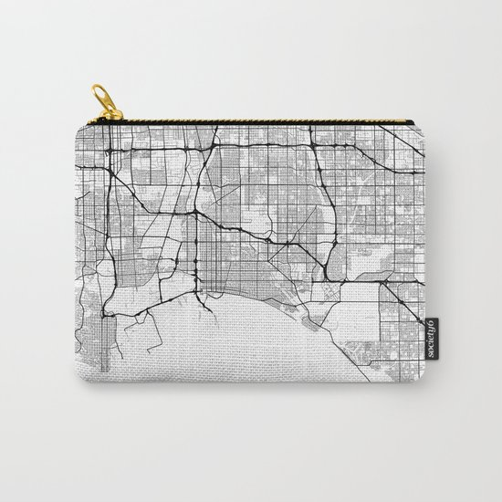 Minimal City Maps - Map Of Long Beach, California, United States by valsymot