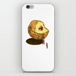 Life in a Nutshell iPhone Skin