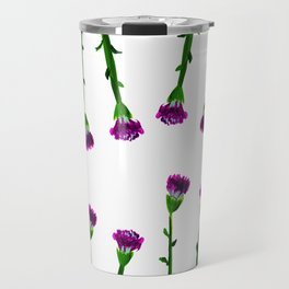 Fan's pattern design-Red carnation Travel Mug