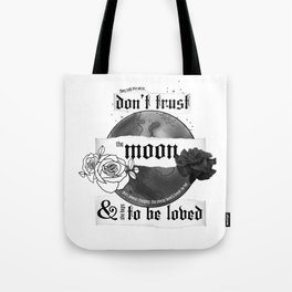 Good Mourning Lyrics Tote Bag