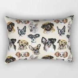 Just some dogs Rectangular Pillow