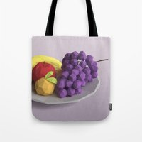 fruit Tote Bags featuring Fruit by CharismArt