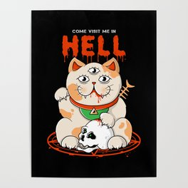 Come Visit Me In Hell Poster
