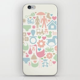 Baby a sphere iPhone Skin