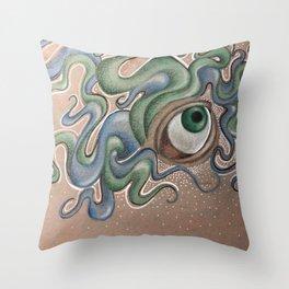 The Elysium eye Throw Pillow
