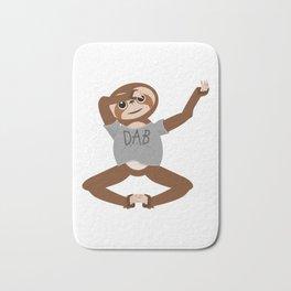 Sloth Dabbing Bath Mat