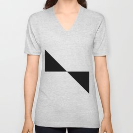 SCANDI (BLACK-WHITE) Unisex V-Neck