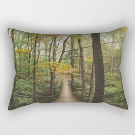 A Walk in the Woods, No. 2 Rectangular Pillow