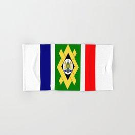 flag of Johannesburg Hand & Bath Towel