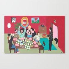 Salsa Exvoto Canvas Print