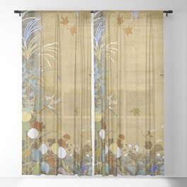12,000pixel-500dpi - Japanese modern Interior art #88 Sheer Curtain