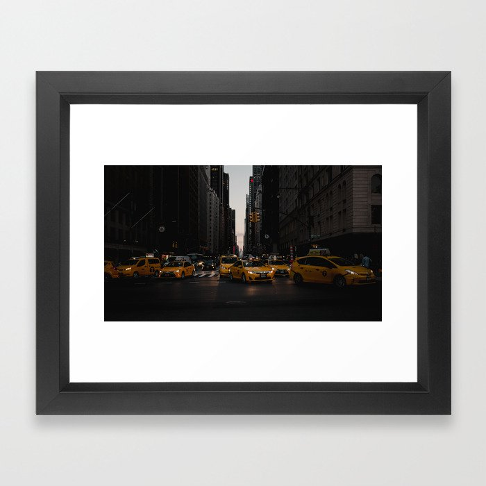 Tax-sea Framed Art Print