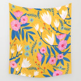Magnolias and Camellias! Wall Tapestry