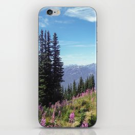 Summer Ski Slope in Whistler iPhone Skin
