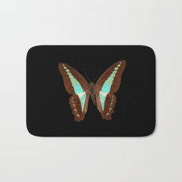 Butterfly - Graphium milon anthedon (Indonesia) Bath Mat