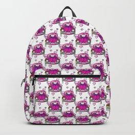 Pink Petal To The Metal Backpack