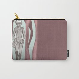 walking in woods Carry-All Pouch