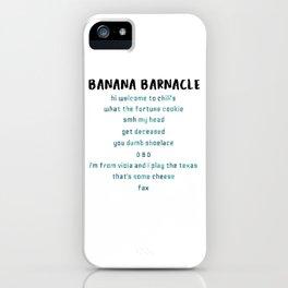 famous last words iPhone Case