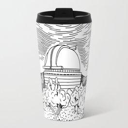 Observatory Hand Drawing Travel Mug