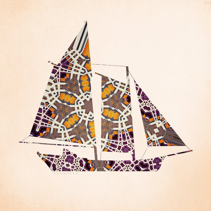 Extravagant sailing yacht Comforters