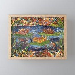 Lily Pond Framed Mini Art Print