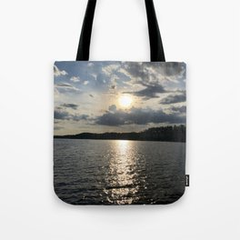 Afternoon on the Lake Tote Bag
