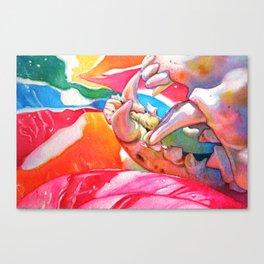 lollipop macabre Canvas Print