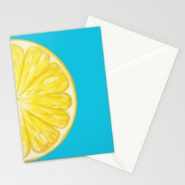 Lemon Half Full Stationery Cards