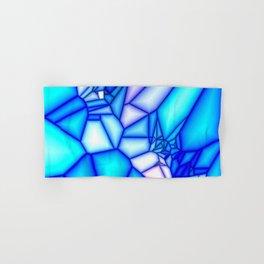 Glowing blue Hand & Bath Towel