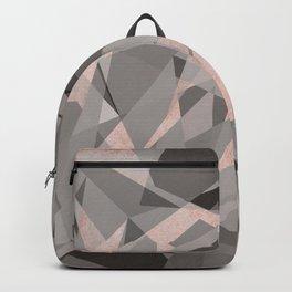 Shattered - Rose Gold Backpack
