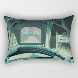 In The Mouth Of Madness Rectangular Pillow