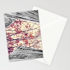 Maple and Pine Collage Stationery Cards