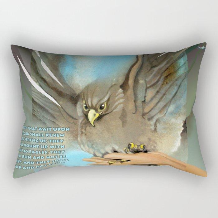 Wings Of Eagles Rectangular Pillow