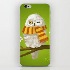 Spring Owl iPhone Skin