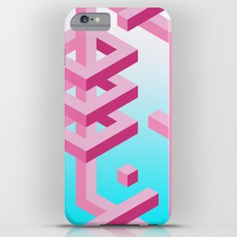 Isometric Adventure iPhone Case