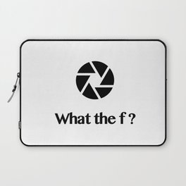 What the f ? Laptop Sleeve
