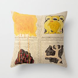 Gimme Your Lunch Money Throw Pillow