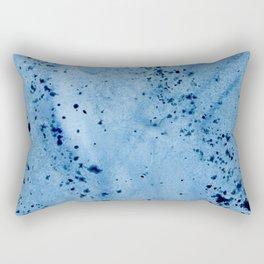 Nautilius Watercolor Texture Rectangular Pillow