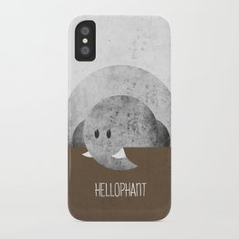 Hellophant iPhone Case