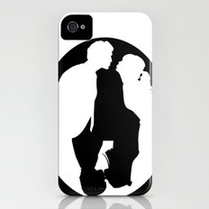 Pushing Daisies silhouette kiss Slim Case iPhone (4, 4s)