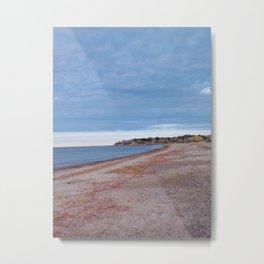 Whitehorse Beach, Plymouth MA Metal Print