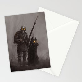 Infantryman Stationery Cards