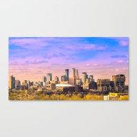 minneapolis Canvas Prints featuring Minneapolis  by Last Triumph