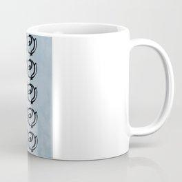 Rows of Flowers, Sky Coffee Mug