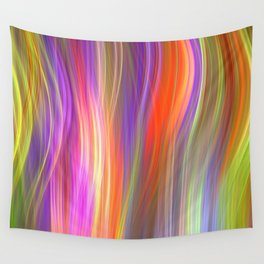 Colour streams II Wall Tapestry