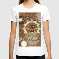 steampunk T-shirts featuring Steampunk  by nicky2342