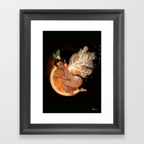 Fée Cointreau / Fairy Cointreau  Framed Art Print