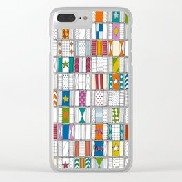 racing silks Clear iPhone Case